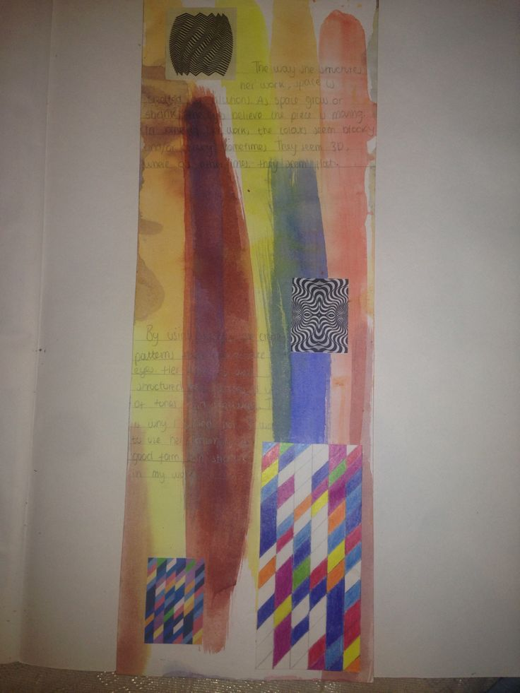 Bridget Riley Research Page P2  Remember the provide a recreation!