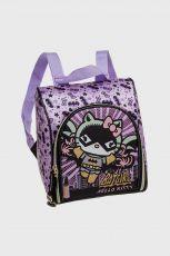 Lancheira com Acessórios Hello Kitty Batgirl
