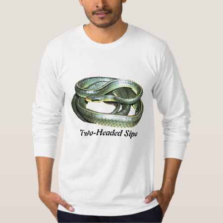 Two-Headed Sipo American Apparel Long Sleeve T-Shirt - tap, personalize, buy right now!