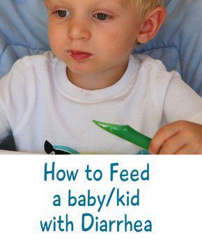 YES and NO foods to feed your baby when diarrhea occurs.