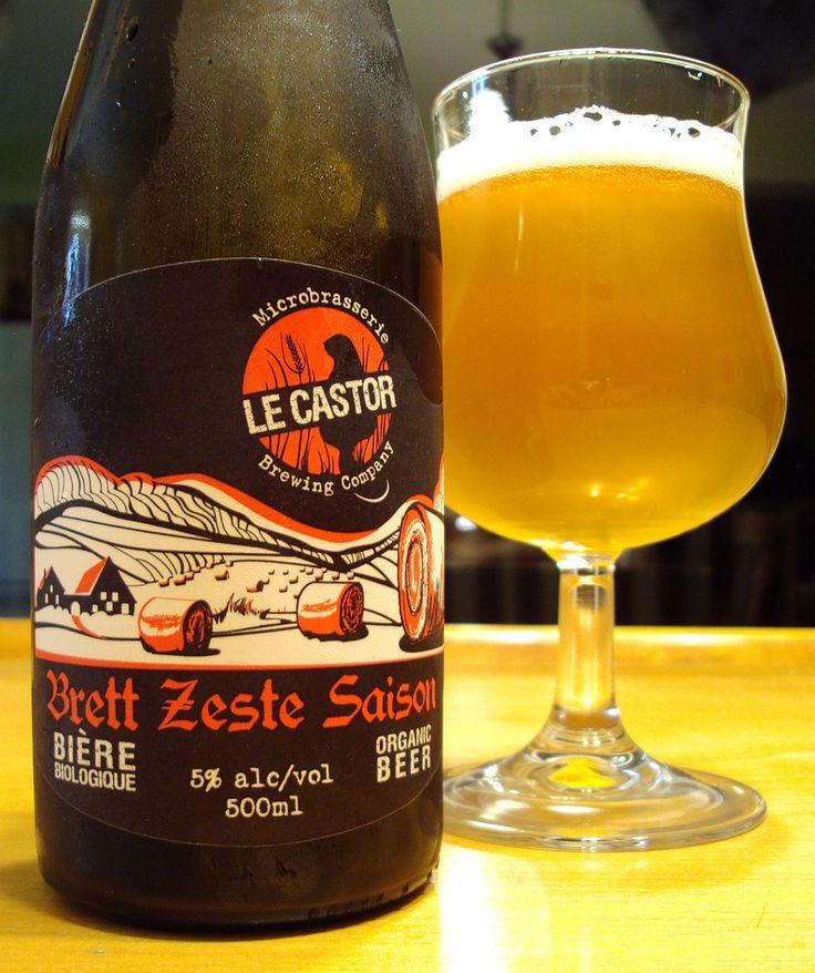 Brett Zeste Saison - Microbrasserie Le Castor via craftbeerquebec.ca #saison #dégustation #bière #lecastor #houblon #québec #buvezfrais #bièreduquébec #brasserie #boirelocal #craftbeerqc #bièreqc #drinkcraft #craftbeer #bière #belgianstylebeer #beer #hoppy #microbrasserie #beerreview