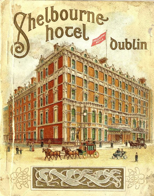 The Shelbourne Hotel Dublin, history of the hotel by Elizabeth Bowen