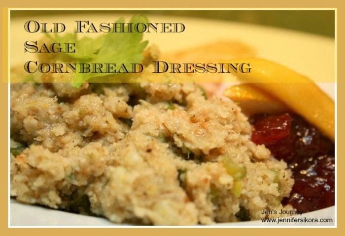 Sage Cornbread Dressing-- I finally mastered it! #recipe #cooking