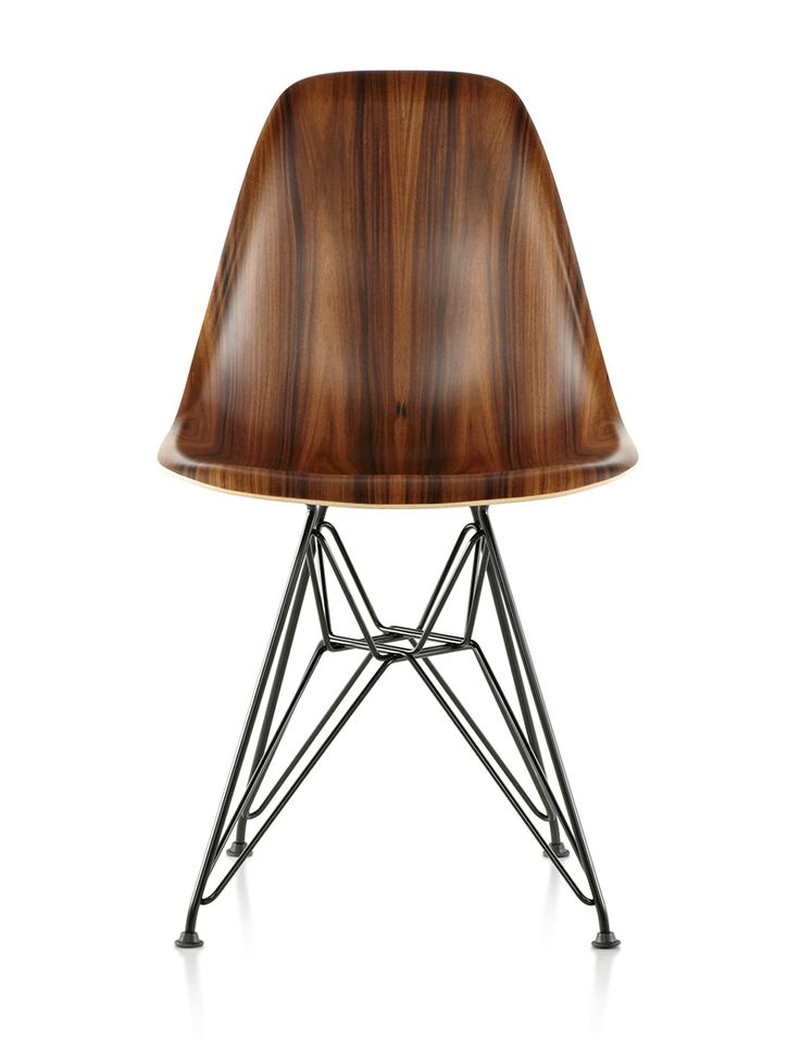 Say what? Herman Miller Molded Eames chairs in wood via If It's Hip It's Here