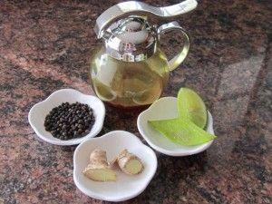 Infusión de jengibre, sábila y pimienta, te ayudará a quemar grasa. Encuentra la receta completa en http://www.1001consejos.com/sabila-para-adelgazar/