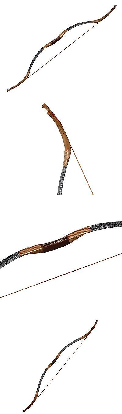 Longbows 181294: Huntingdoor Handmade Recurve Bows Archery Ox Horn Longbows Recurve Horsebow 3... -> BUY IT NOW ONLY: $168.89 on eBay!
