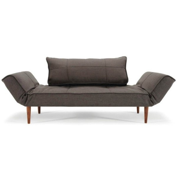 Zeal Daybed Multifunctional Sofa/daybed. Arms Move Separately To Allow For  Various Arrangements.