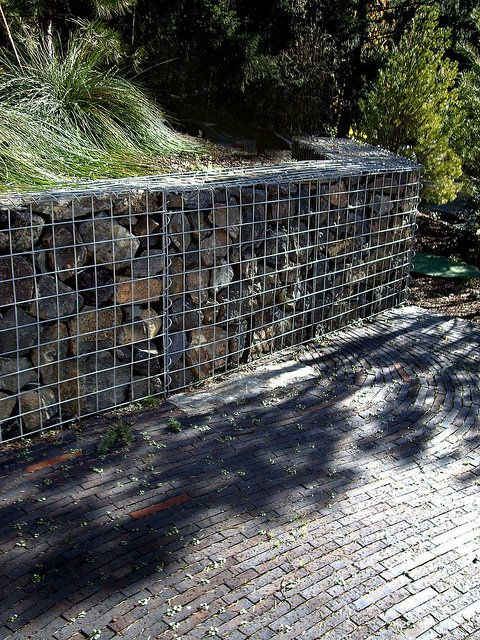 unbelievable curved gabion wall. 106 best  gabion retaining walls images on Pinterest Gabion wall baskets and Yard design