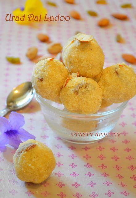 Urad Dal Ladoo / Sunnundalu / Diwali Recipes | Tasty Appetite