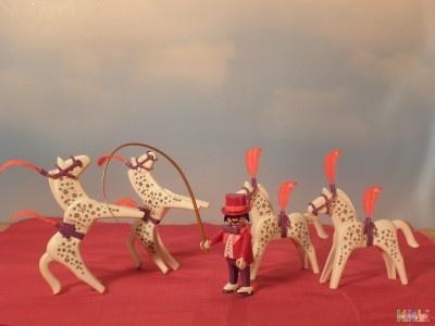 Dresseur De Chevaux Du Cirque Réf 3742 De 1987 PLAYMOBIL 506 T