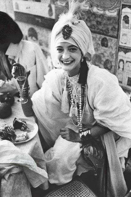 ROBYN MIZRACH | Loulou de la Falaise in her wedding dress - 1977.