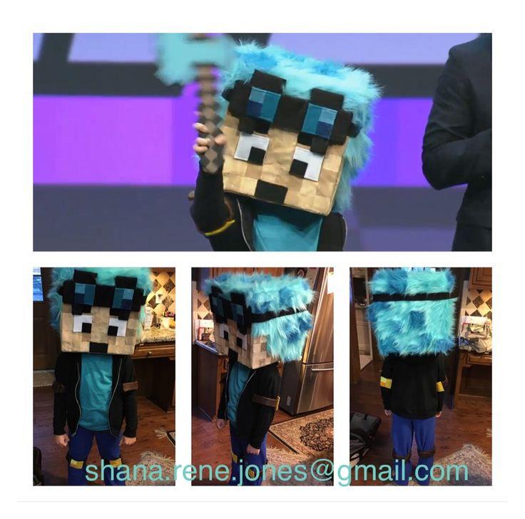 Minecraft costume! DanTDM Minecraft #minecon2016