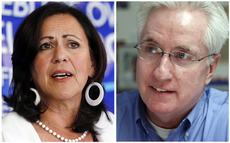 WASHINGTON -- The first recall election in Colorado's history on Tuesday marked a stunning victory for the National Rifle Association and gun rights activists, with the ouster of two Democrats -- Senate President John Morse (Colorado Springs) and state Sen. Angela Giron (Pueblo). The two lawmakers were the target of separate recall fights over their support for stricter gun laws earlier this year.