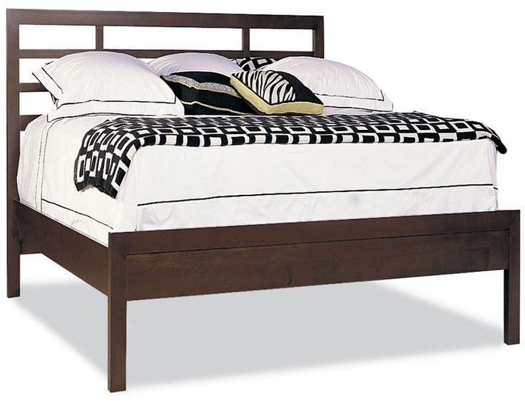 King Asian Bed W/Low Panel Ftbd Matt Only   Soma Collection At House Of