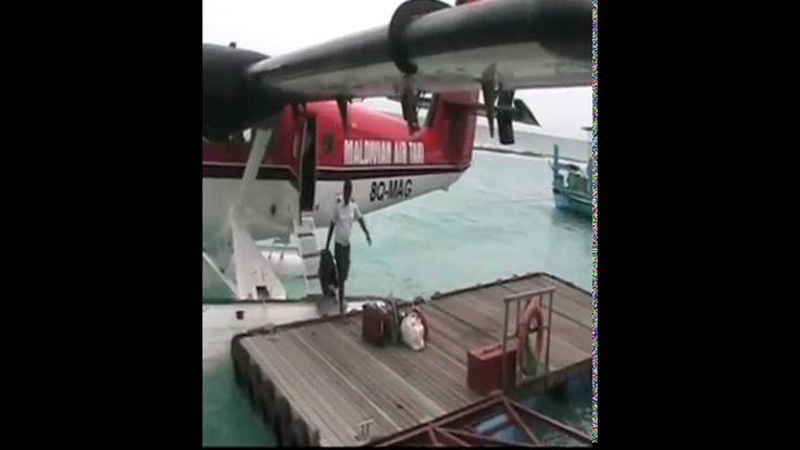 Trip Male to Veligandu in a Seaplane