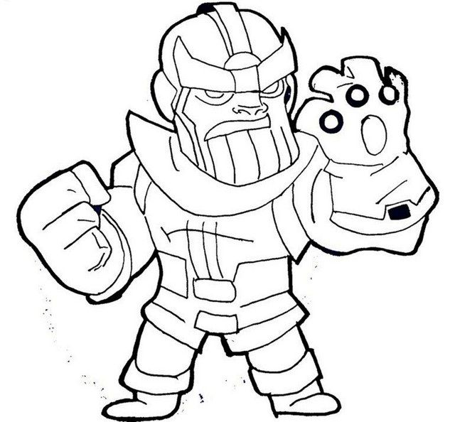 Lego Avengers Endgame Coloring Pages Pictures