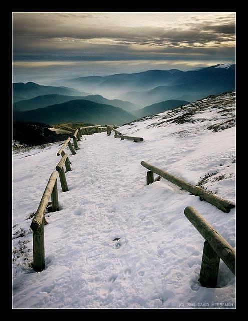 Les #Vosges en hiver