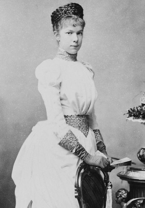 Empress Elisabeth Of Austria — beautiesfromthepast: Archduchess Marie Valerie...