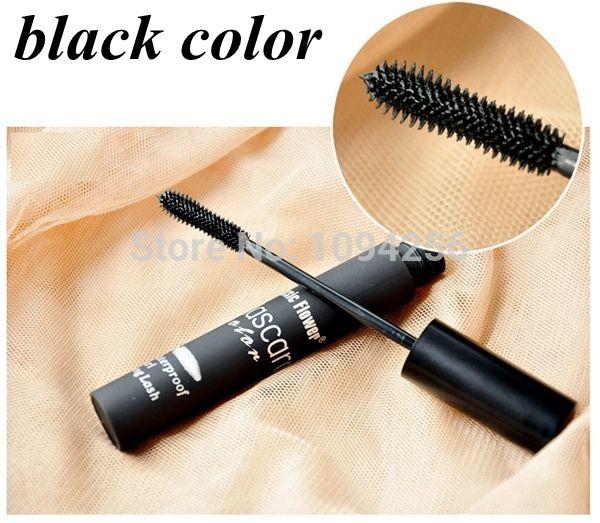 Venda quente 5 cores u pode escolher nova Smoky Lash Mascara Waterproof para olhos o crescimento dos cílios maquiagem de alta qualidade alishoppbrasil