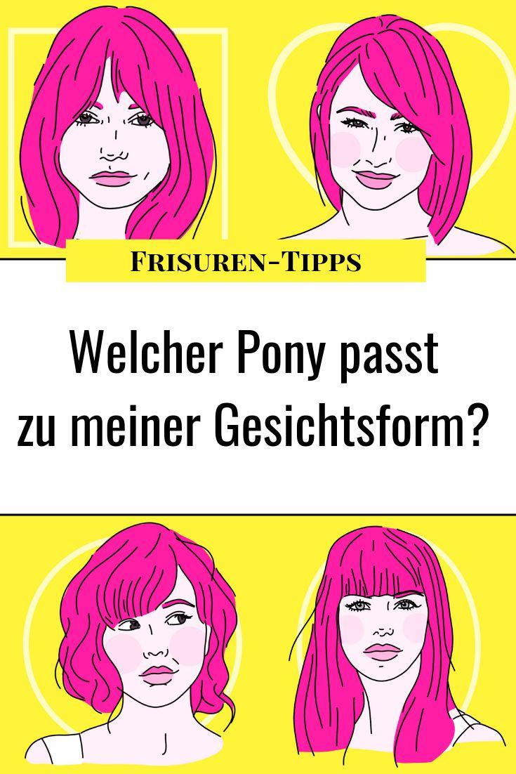 Frisuren mit Pony: Dieser Pony passt zu deiner Gesichtsform