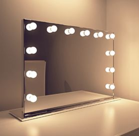 17 best ideas about hollywood mirror with lights on pinterest mirror with lights farmhouse. Black Bedroom Furniture Sets. Home Design Ideas
