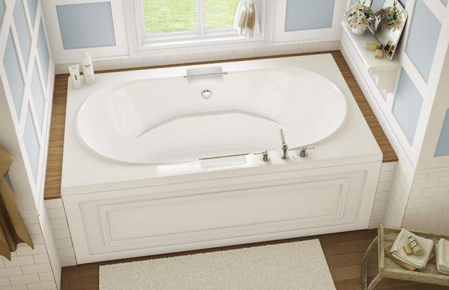 Balmoral Alcove Or Drop In Bathtub Keystone By Maax