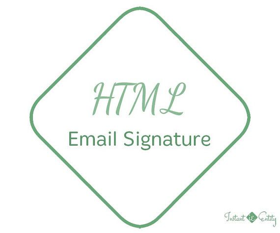 Best 25+ Mail Signature Ideas On Pinterest | Email Signatures