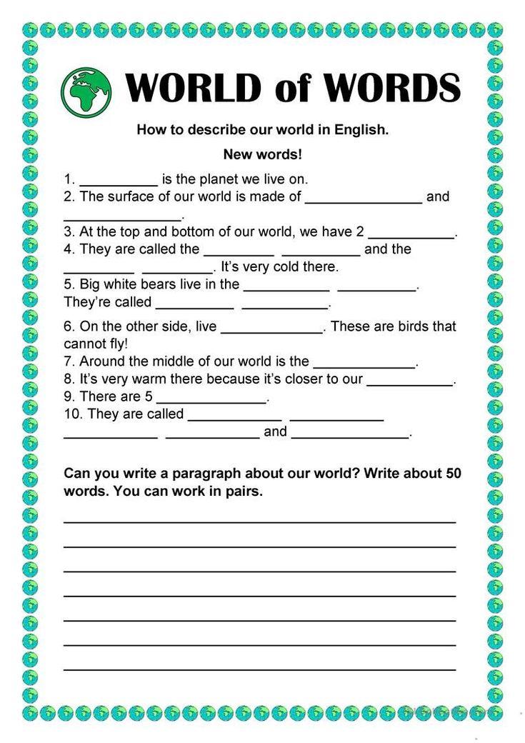 Comprehension Worksheets For Kindergarten Pdf