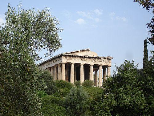 Templo de Hefestos. >Atenas.