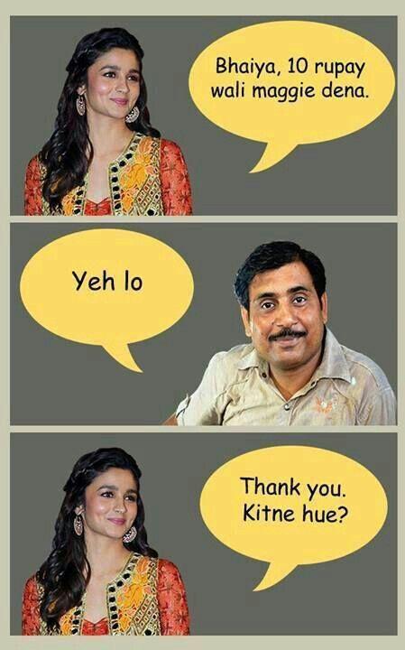 Lol Alia Bhatt!!