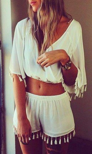 #summer #fashion / boho