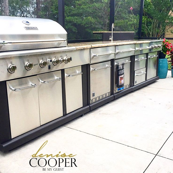 Outdoor Kitchen Kits Lowes: Best 25+ Modular Outdoor Kitchens Ideas On Pinterest
