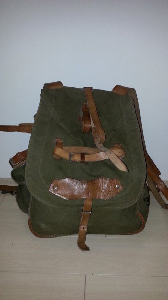 Ww2 Christmas Gifts.Christmas Gift For Him Military Backpack War Old