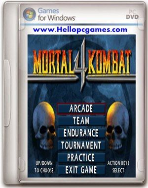 Mortal Kombat 4 Game For PC