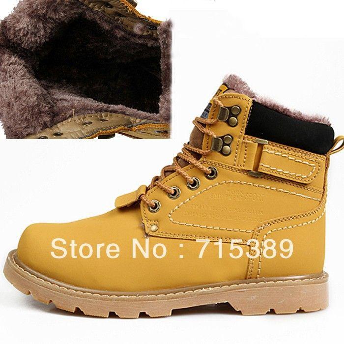 Мода мужской и женский сапоги на открытом воздухе зима армейские ботинки д-р мартин сапоги теплые ботинки плюс шерсть кроссовки сапоги бесплатная доставка