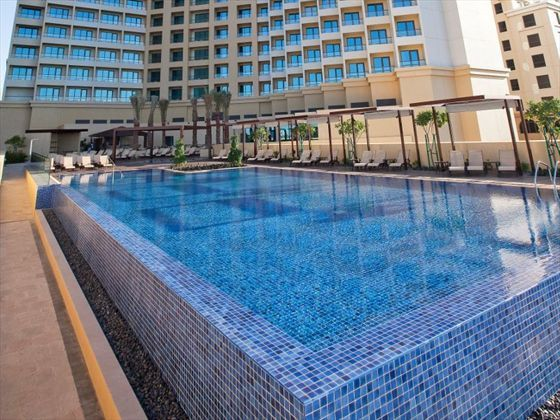 If you'd love to experience all the best of Dubai, try this modern family-friendly hotel overlooking the Arabian Gulf. All of the rooms feature ocean views – and we also like that there are interconnecting rooms that are perfect if you're traveling with your kids.