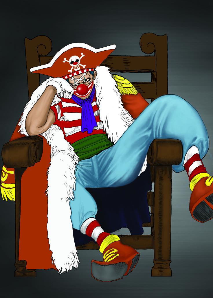 One Piece Buggy Anıme Japan