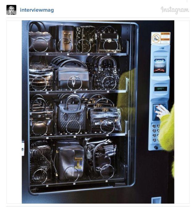 Image result for bag vending machine