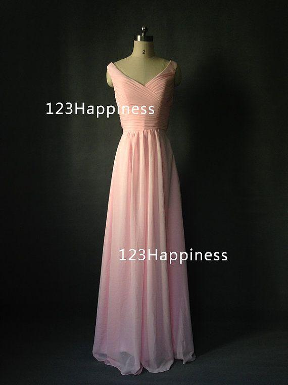 Long de demoiselle d'honneur, robe de mousseline de soie, robe de bal sans manches, robe de demoiselle d'honneur, robe de bal Sweetheart décolleté, robe de soirée longue.