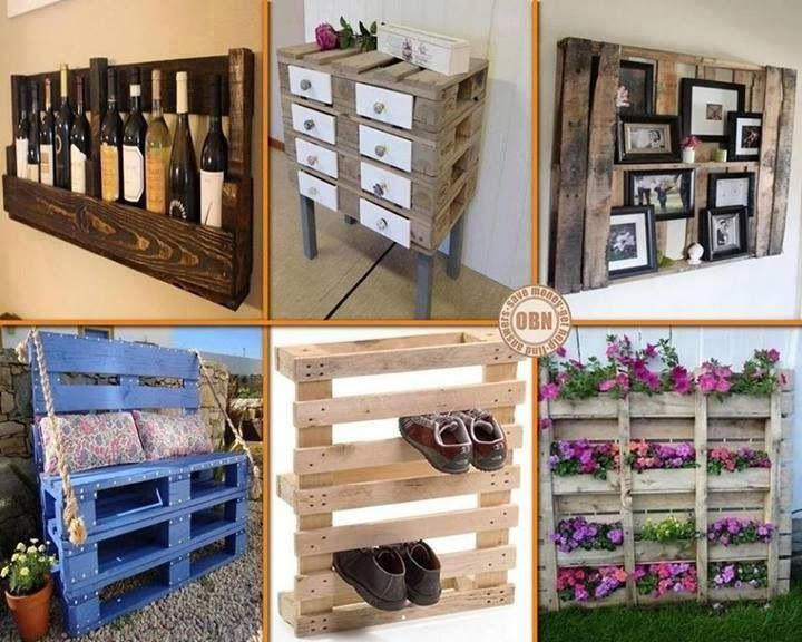 Cool ideas to do with old pallets stuff for home for Things to do with pallets
