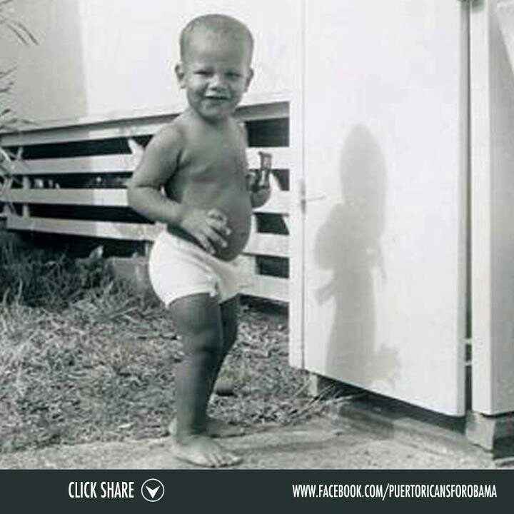 As A Baby... President Barack Obama so cute                                                                                                                                                      More