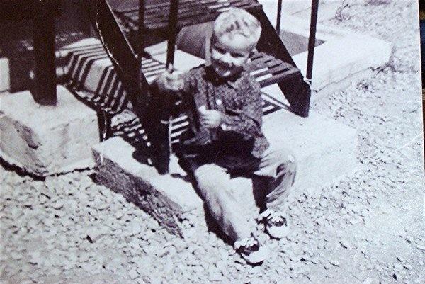 me ,slums of st michel,1960s