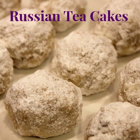 With the Sochi Winter Olympics starting soon, we decided to make some Russian treats.  My girls thought these tea cakes would make a fun tea party treat.  These are very easy to make, and taste wonderful too!  Definitely a nice addition to a tea ...