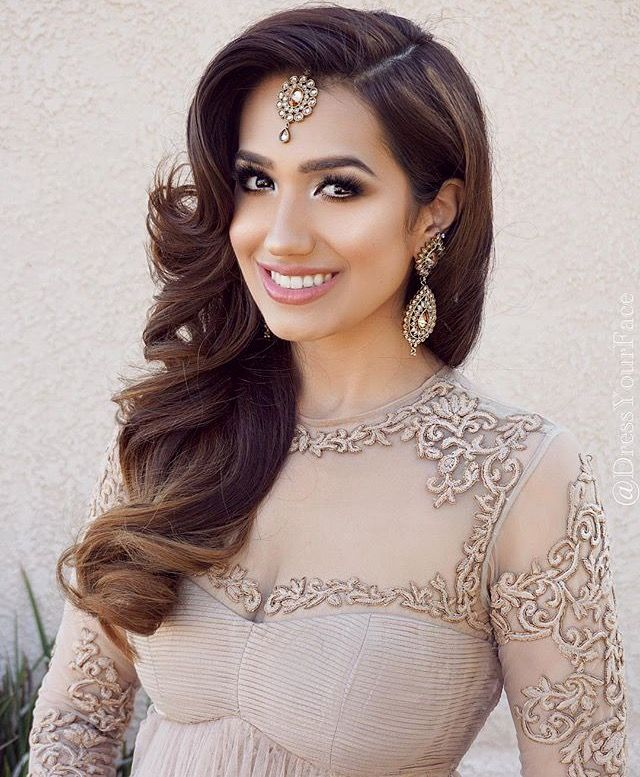 The 25+ best Tikka hairstyle ideas on Pinterest | Indian wedding ...