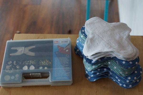Nachhaltige Monatshygiene: Slipeinlagen und Binden selbst nähen |