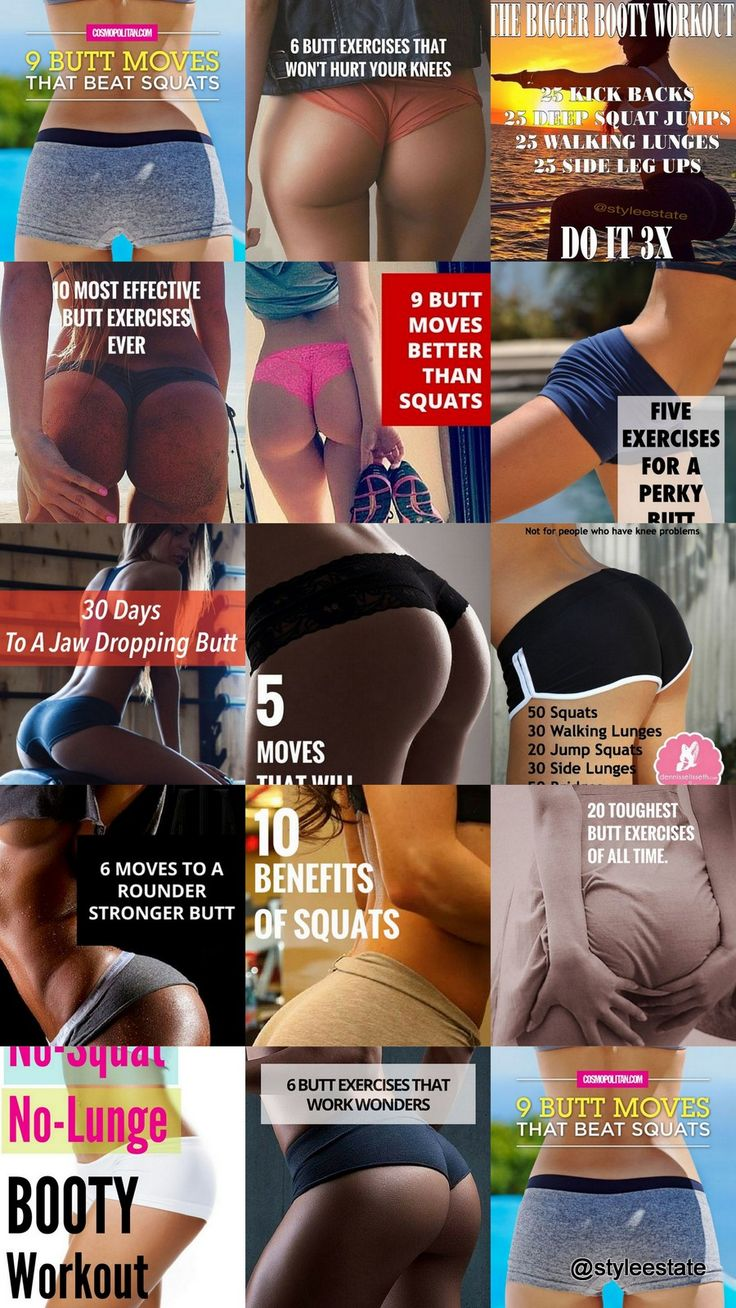 Top 60 Butt Workout Diagrams & Tutorials For Getting The Best Ass Ever