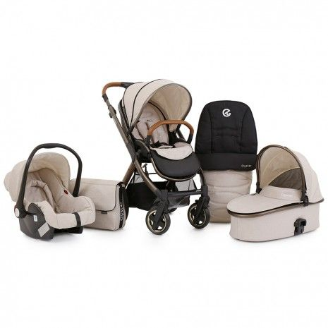 Babystyle Oyster 2 Special Edition Travel System - City Bronze