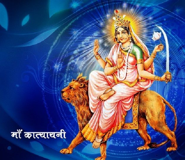 #Navratri 2014 #Durga Puja 2014 6th day of Navratri: Dedicated to Goddess Katyayani
