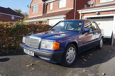 eBay: 1993 Mercedes-Benz 190E LE (Limited Edition) 2.0 Azzurro Blue not Cosworth AMG