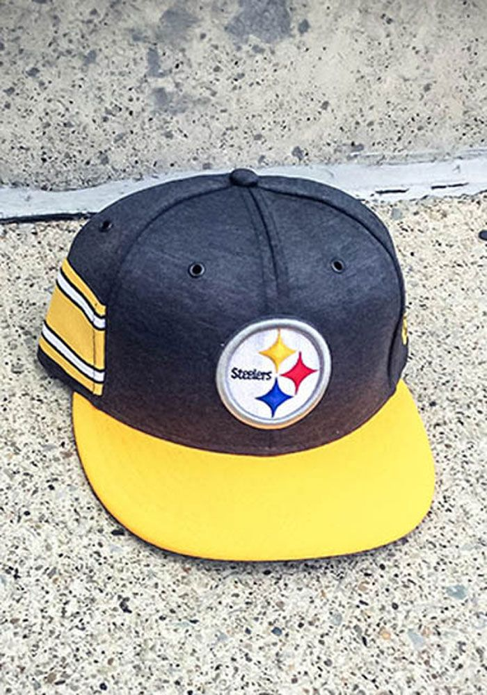 20642d6e New Era Pittsburgh Steelers Mens Black NFL18 Official Sideline Home 59FIFTY  Fitted Hat